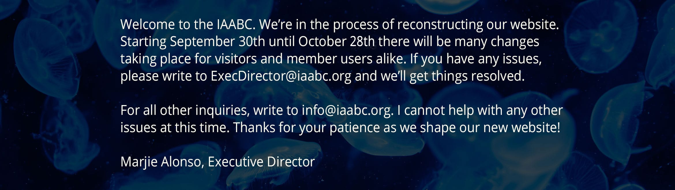 Welcome to the IAABC
